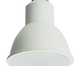 Ecola Reflector GU10  LED  8,0W  220V 4200K матовое стекло (композит) 57×50
