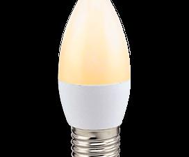 Ecola candle   LED Premium  8,0W 220V E27 золотистая свеча (композит) 100×37