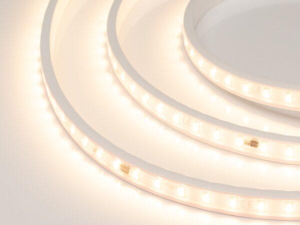 Светодиодная лента ARL-50000PV-230V Warm2700 (5630, 72 LED/m, WP2) (ARL, 14 Вт/м, IP65)