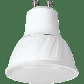 Лампа Ecola Reflector GU10  LED Premium  10.0W 220V 4200K (композит) 57×50