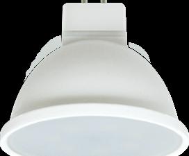 Ecola MR16   LED Premium  8,0W  220V GU5.3 6000K матовое стекло (композит) 48×50