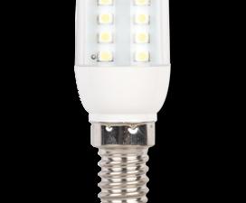Ecola T25 LED Micro 1,1W E14 4000K кукуруза (для холодил., шв. машинки и т.д.) 63×25 mm