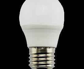 Ecola globe   LED Premium  9,0W G45  220V E27 4000K шар (композит) 82×45