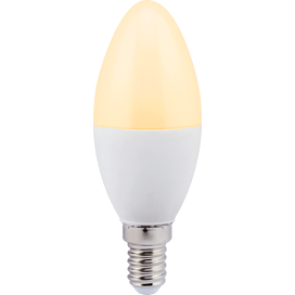 Ecola candle LED 7.0W 220V E14 золотистая свеча (композит) 110×37