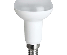Ecola Reflector R50   LED  8,0W  220V E14 2800K (композит) 87×50