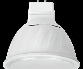 Ecola MR16   LED Premium 10.0W  220V GU5.3 6000K матовое стекло (композит) 51×50