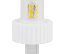 Лампа Ecola G9  LED Premium 7.5W Corn Mini 220V 2800K 300° (керамика) 61×40