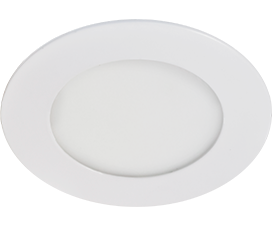Ecola LED downlight встраив. Круглый даунлайт с драйвером  6W 220V 4200K 120×20