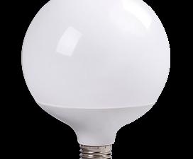 Ecola globe   LED Premium 30,0W G120 220V E27 2700K 320° шар (композит) 170×120