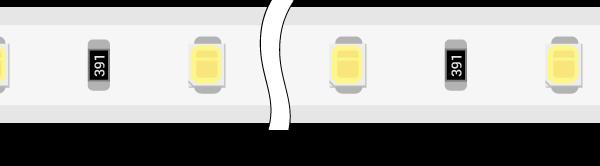 Лента светодиодная 220, SMD3528, 60LED/м, кат 100м, 4,8 Вт/м, IP68, Холодный белый (6000-6500К Холодный белыйK)