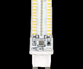 Ecola G9  LED  5.0W Corn Micro 220V 4200K 320° 62×16
