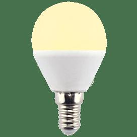 Ecola globe LED Premium 8,0W G45 220V E14 золотистый шар (композит) 78×45