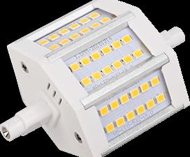 Ecola Projector   LED Lamp Premium  9,0W F78 220V R7s 6500K (алюм. радиатор) 78x32x51