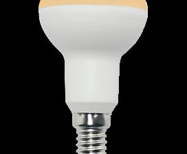 Ecola Reflector R50   LED Premium  7,0W  220V E14 золотистый (композит) 87×50