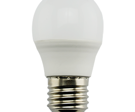 Ecola Light Globe  LED  7,0W G45  220V E27 4000K шар (композит) 82×45  (1 из ч/б уп. по 4)