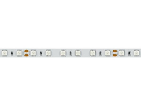 Светодиодная лента RT 2-5000 24V RGB 2x (5060, 300 LED, LUX) (ARL, 14.4 Вт/м, IP20)