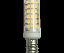 Ecola T25 LED Micro 10.0W E14 4000K 340° кукуруза (для холодил., шв. машинки и т.д.) 65×18 mm
