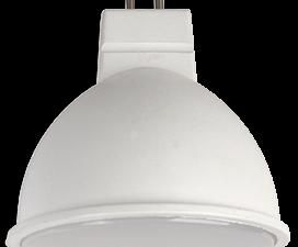 Ecola Light MR16   LED  5,0W 220V GU5.3 4200K матовое стекло (композит) 48×50