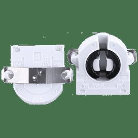 Ecola base G13 патрон торцевой поворотный с защелками и прижимной пружиной