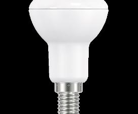 Ecola Reflector R50   LED Premium  9,0W  220V E14 2800K (композит) 87×50