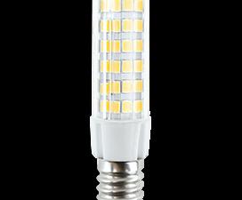 Ecola T25 LED Micro 5,5W E14 4000K 340° кукуруза (для холодил., шв. машинки и т.д.) 62×17 mm