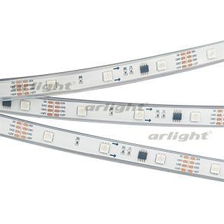 Лента SPI-5000P-AM 12V RGB (5060, 150 LED x3, 1804)