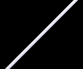 Ecola LED linear IP20  линейный св.д. св-к T5 с выкл. 18W 220V 6500K 1170x22x35