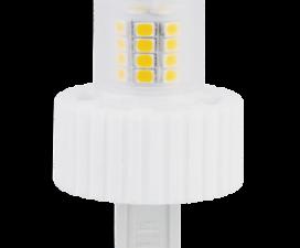 Лампа Ecola G9  LED  7.5W Corn Mini 220V 2800K 300° (керамика) 61×40