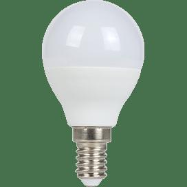 Ecola globe   LED  7,0W G45  220V E14 6500K шар (композит) 82×45