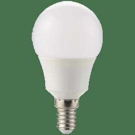 Ecola globe   LED  8,2W G50 220V E14 2700K шар 270° (композит) 95×50
