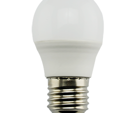 Ecola globe   LED Premium  9,0W G45  220V E27 2700K шар (композит) 82×45