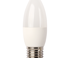 Ecola Light candle   LED  7,0W 220V E27 2700K свеча (композит) 103×37