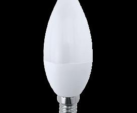 Ecola candle   LED Premium  7,0W 220V E14 6000K свеча (композит) 105×37