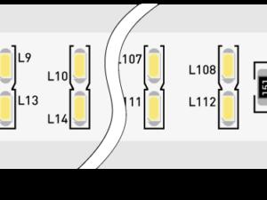 Лента светодиодная 220, SMD3014, 240LED/м, кат 50м, 20 Вт/м, IP68, Нейтральный белый (4000-4500К Нейтральный белыйK)