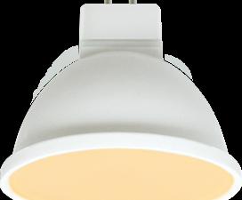 Ecola MR16   LED Premium  8,0W  220V GU5.3 золотистая матовое стекло (композит) 48×50