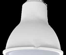 Ecola Light Reflector GU10  LED  5,0W 220V GU10 2800K матовое стекло 58х50
