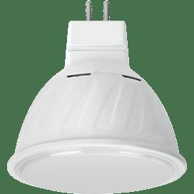 Ecola MR16   LED 10.0W  220V GU5.3 6000K матовое стекло (композит) 51×50