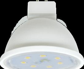 Ecola MR16   LED Premium  7.0W  220V GU5.3 4200K прозрачное стекло (композит) 48×50