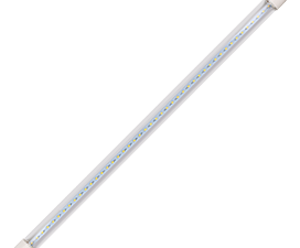 Ecola T8 Premium G13 LED 12,5W 220V 6500K с поворотными цоколями (прозрачное стекло) 605×28 (упак.ин