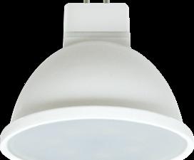 Ecola Light MR16   LED  7,0W  220V GU5.3 2800K матовое стекло (композит) 48×50 (1 из ч/б уп. по 4)