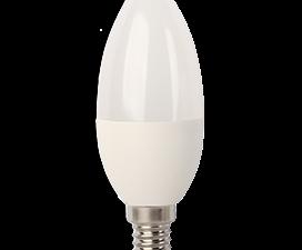 Ecola candle   LED  7,0W 220V E14 6000K свеча (композит) 105×37