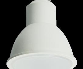 Ecola Reflector GU10  LED  8,0W  220V 2800K матовое стекло (композит) 57×50