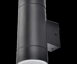 Ecola GX53 LED 8013A светильник накладной IP65 прозрачный Цилиндр металл. 2*GX53 Черный 205x140x90