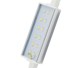 Ecola Projector   LED Lamp Premium 12,0W F118 220V R7s 4200K (алюм. радиатор) 118x20x32