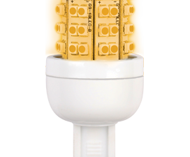 Ecola G9  LED Premium 3.6W  220V золотистый 300° 64×32