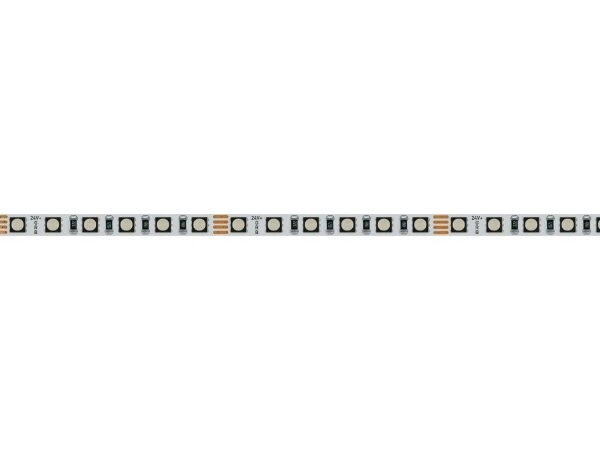 Светодиодная лента MINI-120-24V RGB 5mm (3535, 5m, LUX) (ARL, 8 Вт/м, IP20) Цвет: RGB