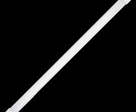Ecola T8 Premium G13 LED 12,5W 220V 2700K с поворотными цоколями (матовое стекло) 605×28