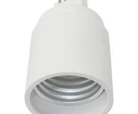 Ecola base Переходник с цоколя G9 на E27 Белый