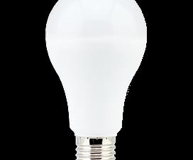 Ecola classic   LED Premium 17W A65 220-240V E27 4000K (композит) 128×65
