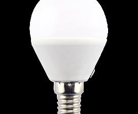 Ecola Light Globe  LED  7,0W G45  220V E14 4000K шар (композит) 82×45  (1 из ч/б уп. по 4)